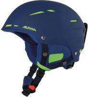 Шлем горнолыжный Alpina Sports 2020-21 Biom / A9059-80 (р-р 58-62, темно-синий) -