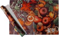 Набор пленки для оформления подарков Vista Рождественский пунш 90мкм (50х70, 2 листа) -