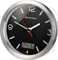 Настенные часы Bresser MyTime Bath RC / 74611 (черный) -