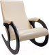 Кресло-качалка Calviano Бастион 4 (экокожа Selena Crem) -