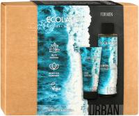 Набор косметики для тела и волос Ecolatier Urban Men Care гель д/душа и шампунь 200мл+крем для бритья 100мл -