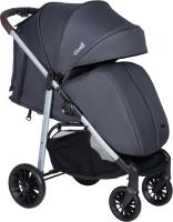 Детская прогулочная коляска Costa Jenny Plus (темно-серый) -