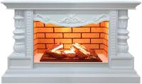 Каминокомплект Glenrich Консул Hota 3D (белый) -
