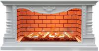 Каминокомплект Glenrich Консул Salsa 3D (белый) -
