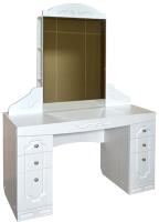 Туалетный столик Ивару Мария-Луиза 10 (бодега белый/МДФ бодега белый) -