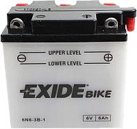 Мотоаккумулятор Exide 6N6-3B-1 (6 А/ч) -
