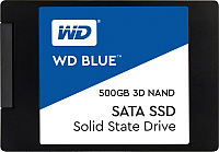 SSD диск Western Digital Blue 3D NAND 500GB (WDS500G2B0A) -