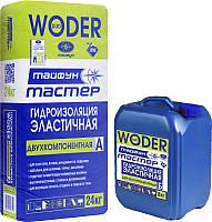 Гидроизоляция цементная Тайфун Мастер Woder Duo (24+8кг) -