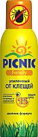 Спрей от насекомых PICNIC Family Super защита от клещей (125мл) -