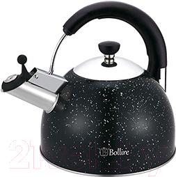 Купить Чайник со свистком Bollire, BR-3008, Китай, черный