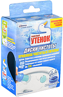 Чистящее средство для унитаза Туалетный утенок Морская свежесть с дозатором (38г) -