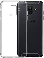 Чехол-накладка Case Better One для Galaxy A6 (глянец прозрачный) -