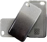 Чехол-накладка Case Brilliant Paper для Redmi 5A (серебристый/черный) -