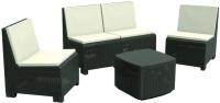 Комплект садовой мебели Ipae Progarden  Vulcano Set / VULC04AG -