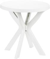 Стол пластиковый Ipae Progarden Don / DON023BI (белый) -