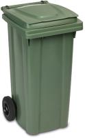 Контейнер для мусора Ipae Progarden 25700 (120л, зеленый) -