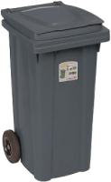 Контейнер для мусора Ipae Progarden 25695 (120л, серый) -