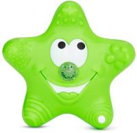 Игрушка для ванной Munchkin Звездочка зеленая / 1101502 -