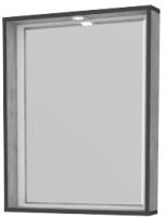 Зеркало Какса-А Verona 60 / 463080 (с полкой) -
