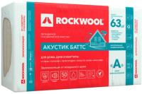 Плита теплоизоляционная Rockwool Акустик Баттс 1000x600x75 (упаковка) -