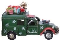 Статуэтка GreenTerra Рождественское авто 380531 -