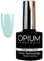 Базовый гель для ногтей Opium French nano nails base color 14 (8мл) -