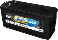 Автомобильный аккумулятор AKOM 6СТ-240 Евро+EFB / 6СТ-240L 3 (240 А/ч) -