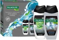 Набор косметики для тела Palmolive Men гель для душа 3 в 1 250мл+гель для душа 4 в 1 250мл -