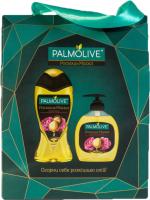 Набор косметики для тела Palmolive Роскошь масел гель для душа 250мл+жидкое мыло для рук 300мл -