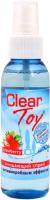 Средство для очищения интимных игрушек Clear Toy Strawberry с антимикробным эффектом (100мл) -