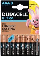Комплект батареек Duracell UltraPower AAA (8шт) -