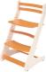 Стул детский Millwood Вырастайка СДН-3 В2 2D (белый/оранжевый) -