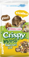 Корм для грызунов Versele-Laga Crispy Muesli Hamsters & Co /461169 (20кг) -