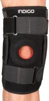 Суппорт колена Indigo IN207 (черный) -