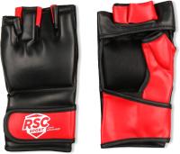 Перчатки для единоборств RSC BF-MM-4001 (L, красный/черный) -