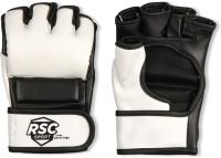 Перчатки для единоборств RSC BF-MM-4006 (M, белый/черный) -