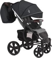 Детская прогулочная коляска Bubago Model One (Black/Light Grey) -