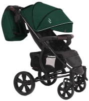 Детская прогулочная коляска Bubago Model One (Green Pea/Black) -