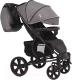 Детская прогулочная коляска Bubago Model One (Smoky Grey/Black) -