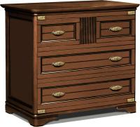 Комод Студия К-мебель Марина / СКМ-001-05 (83.8x99x46, орех) -