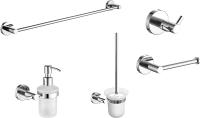 Набор аксессуаров для ванной и туалета Rubineta Rote / 670118 -