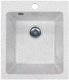 Мойка кухонная AlfaSun Майон / AL350BM (белый мрамор) -