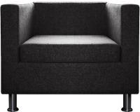 Кресло мягкое Brioli Билли (J22/графит) -
