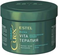 Маска для волос Estel Professional Curex Therapy Vita-терапия для поврежденных волос (500мл) -
