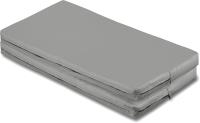 Гимнастический мат Спортивные мастерские SM-108 (серый металлик) -