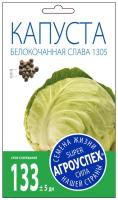 Семена Агро успех Капуста Слава 1305 средняя / 17609 (0.5г) -