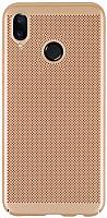 Чехол-накладка Case Matte Natty для Redmi Note 5 (матовое золото) -
