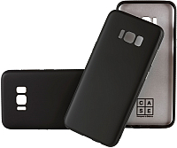 Чехол-накладка Case Deep Matte v.2 для Galaxy S8 (матовый черный) -