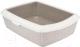 Туалет-лоток Trixie Classic 40315 (серо-коричневый/бежевый) -