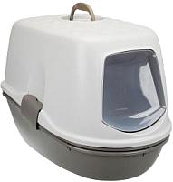 Туалет-домик Trixie Berto Top 40162 (серо-коричневый/серый) -